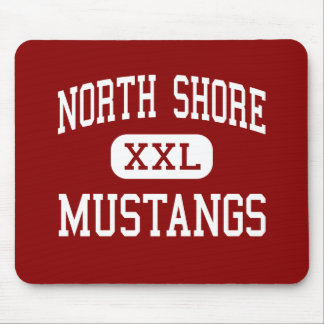 North Shore - Mustangs - Senior - Houston Texas Mouse Pad