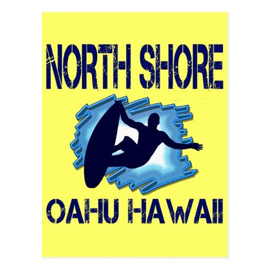 NORTH SHORE, OAHU, HAWAII POSTCARD
