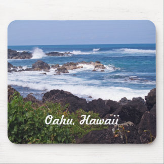 North Shore on the island of Oahu in Hawaii Mousepad