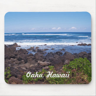 North Shore on the island of Oahu in Hawaii Mousepads