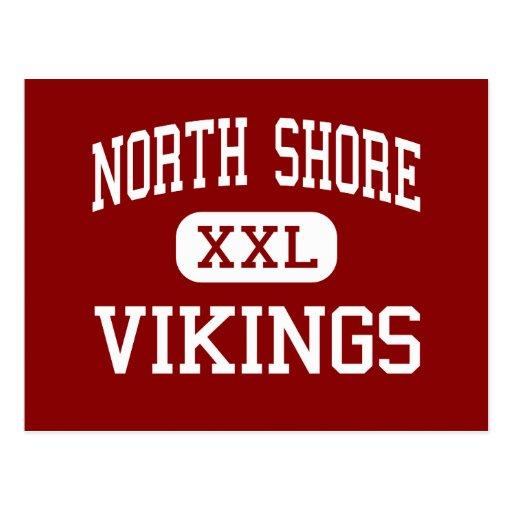 North Shore - Vikings - High - Glen Head New York Postcard