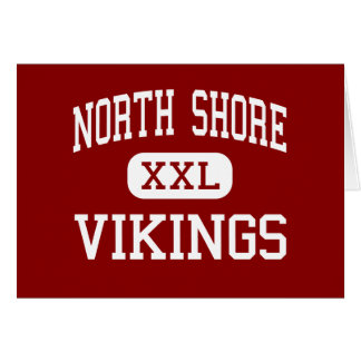 North Shore - Vikings - Middle - Glen Head Greeting Card