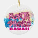 North Shore Waves Ornament