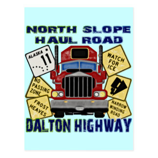 North Slope Haul Road Dalton Highway Postcard
