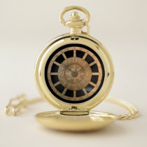 North south east and west compass pocket watch