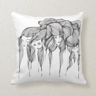 North South East, West Throw Pillow