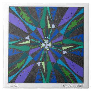 "North Star 1, 6"" Tile"