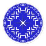 North Star Classic Round Sticker