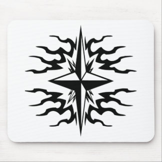 North star graphic mouse pad