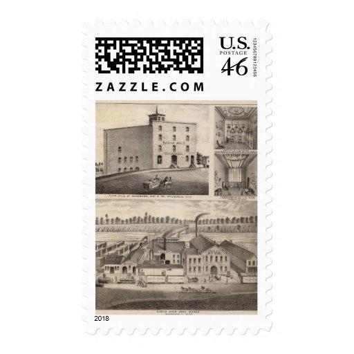 North Star Iron Works, Washburn, Minnesota Postage Stamps