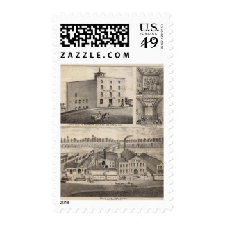 North Star Iron Works, Washburn, Minnesota Postage Stamp