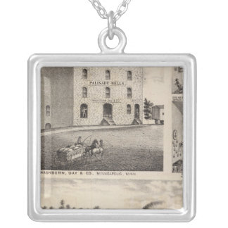 North Star Iron Works, Washburn, Minnesota Silver Plated Necklace