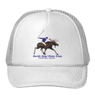 North Star Polo Club Mesh Hats