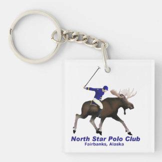 North Star Polo Club Keychain