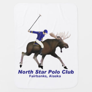North Star Polo Club Receiving Blankets
