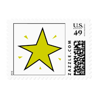 North Star Postage Stamp