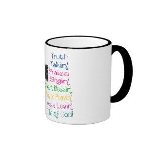 North Star Ringer Mug - Truth Lovin