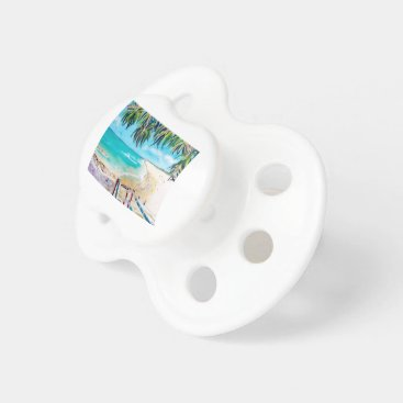 Beach Themed North Stradbroke Island Pacifier