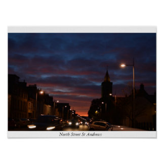 North Street St Andrews Poster
