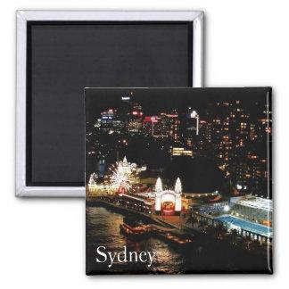 north sydney 2 inch square magnet