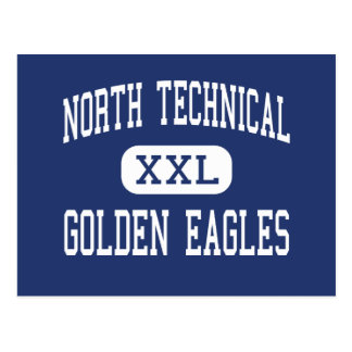 North Technical - Golden Eagles - Florissant Postcard