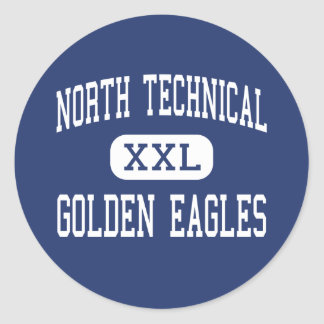 North Technical - Golden Eagles - Florissant Sticker