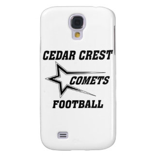 North Texas Pop Warner Cedar Crest Comets Galaxy S4 Cover