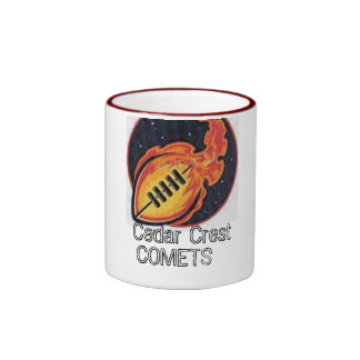 North Texas Pop Warner Cedar Crest Comets Mugs