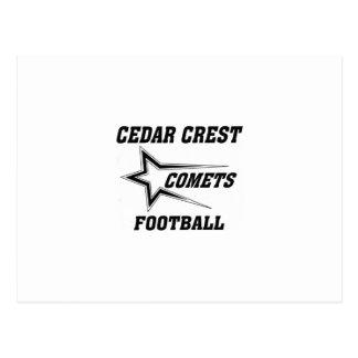 North Texas Pop Warner Cedar Crest Comets Postcard
