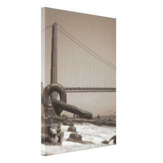 North Tower of the Golden Gate Bridge Canvas Print