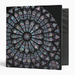 North transept rose window binder