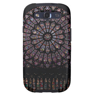 North transept rose window depicting the Virgin an Samsung Galaxy S3 Cover
