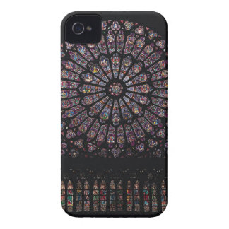 North transept rose window depicting the Virgin an Case-Mate iPhone 4 Case