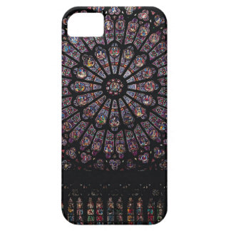 North transept rose window depicting the Virgin an iPhone SE/5/5s Case
