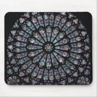 North transept rose window mousepads