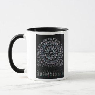 North transept rose window mug