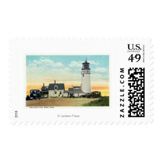 North Truro Highland Lighthouse View Postage