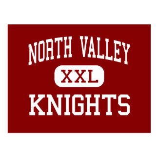 North Valley - Knights - High - Grants Pass Oregon Postcard