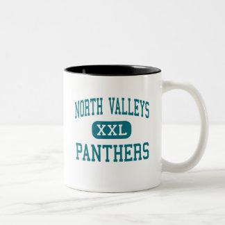 North Valleys - Panthers - High - Reno Nevada Two-Tone Coffee Mug
