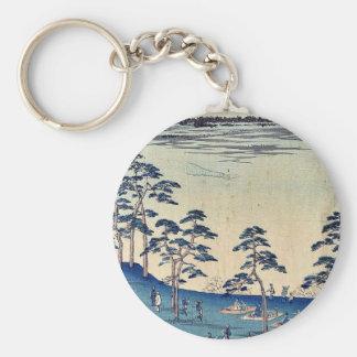 North view from Asukayama by Ando,Hiroshige Keychains