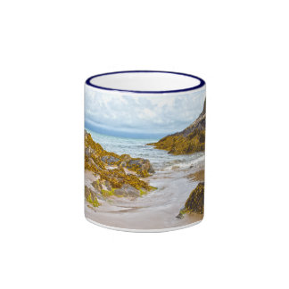 North Wales Coastline Ringer Coffee Mug