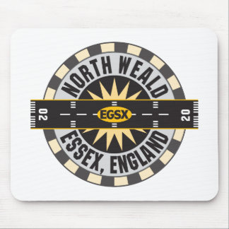 North Weald Essex England EGSX Airport Mouse Pad
