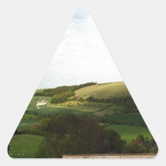 North Wessex Downs Triangle Sticker