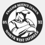 North West Infidels Classic Round Sticker