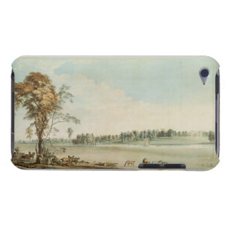 North West View of Wakefield Lodge in Whittlebury iPod Case-Mate Cases