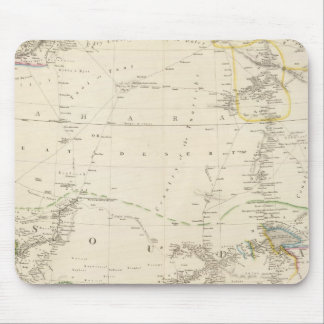 North Western Africa Mouse Pad