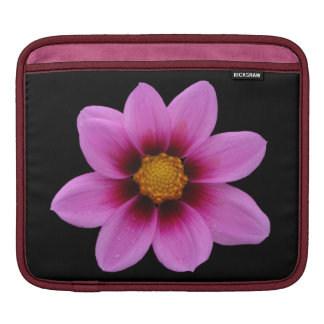 North Western Cosmos Pink Flower ipad Sleeve