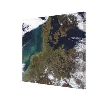 North Western Europe Canvas Print