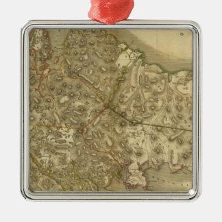 North Western Isles Metal Ornament