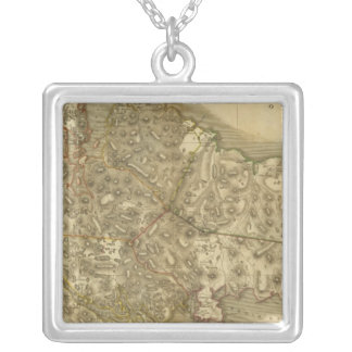 North Western Isles Silver Plated Necklace